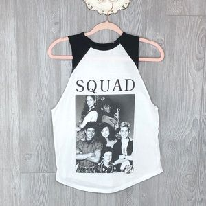 Saved By The Bell Tank Top Shirt 80's 90's